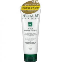 Welcos Around Me Professional Balancing Treatment - Балансирующий кондиционер для волос и кожи головы, 230 мл