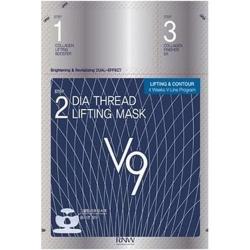 Milatte Rnw Dia Thread Lifting Mask V9 - Маска-лифтинг для овала лица, 12 мл