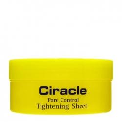 Ciracle Pore Control Tightening Sheet - Салфетки для сужения пор, 50мл
