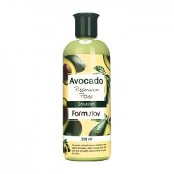 FarmStay Avocado Premium Pore Emulsion -  Эмульсия антивозрастная с экстрактом авокадо, 350 мл