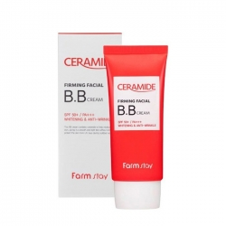 FarmStay Ceramide Firming Facial BB Cream SPF 50+/PA+++ - Крем укрепляющий с керамидами BB, 50 гр