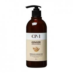 Esthetic House Ginger Purifying Shampoo - Шампунь для волос с экстрактом имбиря, 500 мл