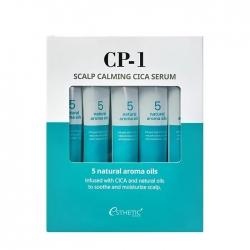 Esthetic House CP-1 Scalp Calming Cica Serum - Сыворотка для кожи головы, 5шт*20мл
