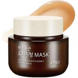 A'Pieu Bellflower With Honey Heating Mask - Согревающая маска с мёдом и корнем колокольчика 110г