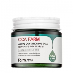 FarmStay Cica Farm Active Conditioning Balm - Крем-бальзам для лица с центеллой азиатской и мадекасоссидом, 80мл