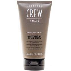 American Crew Moisturizing Shave Cream - Крем для бритья на основе трав с эффектом холода для норм и жесткого типов волос, 150 мл