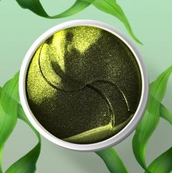 Bioaqua&Minabao Green seaweed firming eye patch - Гидрогелевые патчи с коллагеном и экстрактом водорослей , 60шт