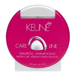Keune Care Line Keratin Curl Shampoo - Шампунь Уход кератиновый локон, 250 мл