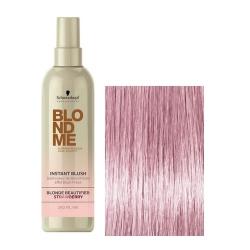 Schwarzkopf BlondMe Instant Blush Strawberry - Оттеночный спрей для волос Земляника, 250 мл