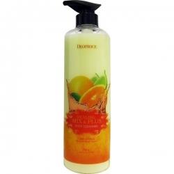 Deoproce Healing Mix & Plus Body Cleanser Lime Citrus - Гель для душа мед и жасмин, 750 мл