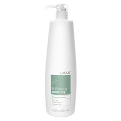 Lakme K.Therapy Purifying Balancing shampoo oily hair - Шампунь восстанавливающий баланс для жирных волос 1000 мл