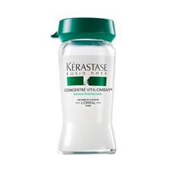 Kerastase Fusio Dose Concentre Vita-Ciment - Укрепляющий концентрат для ослабленных волос 10*12 мл