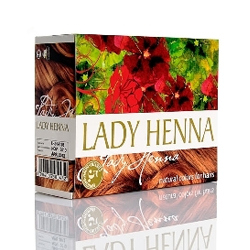 """Краска для волос на основе хны Lady Henna """"Светло-Коричневый"""" 6х10г"""