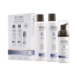 Nioxin System 6 Kit - Набор (система 6), 300+300+100 мл