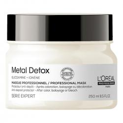 L'Oreal Professionnel Metal Detox - Глубоко питательная маска после окраски 250 мл