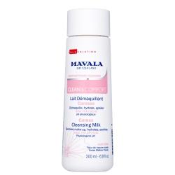 Mavala Clean & Comfort Careless Cleansing Milk - Очищающее Молочко для деликатного ухода, 200 мл