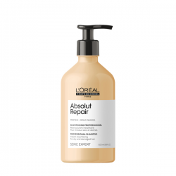 L'Oreal Professionnel Absolut Repair Gold Quinoa+Protein Shampoo РЕНО - Восстанавливающий шампунь для очень поврежденных волос - Восстанавливающий шампунь для очень поврежденных волос, 500 мл