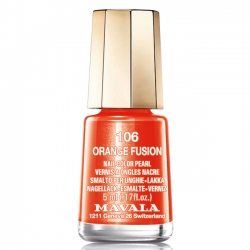 Mavala - Лак для ногтей Тон 106 Оранжевая лава/Orange Fusion, 5 мл