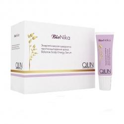Ollin BioNika Balance Scalp Energy Serum - Энергетическая сыворотка против выпадения волос 6*15 мл