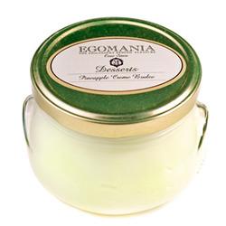 "Egomania Cream Dessert for the Body ""Pineapple creme brulee"" - Крем-Десерт для тела ""Ананасовое Крем-Брюле"" 370 мл"