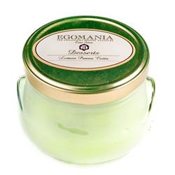 "Egomania Cream Dessert for the Body ""Pineapple creme brulee"" - Крем-Десерт для тела ""Лимонная Панна-Котта"" 370 мл"