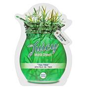 "Holika Holika Juicy Mask Sheet Tea tree -  Тканевая маска для лица ""Джуси Маск"" Сок чайного дерева, 20 мл"