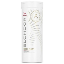 Wella Blondor Freelights - Осветляющая пудра белая, 400 гр