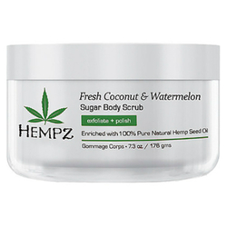 Hempz Fresh Coconut Watermelon Sugar Body Scrub - Скраб для тела Кокос и Арбуз, 176 г