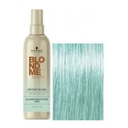 Schwarzkopf BlondMe Instant Blush Jade - Оттеночный спрей для волос Нефрит, 250 мл