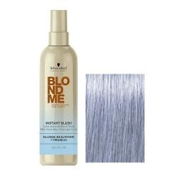 Schwarzkopf BlondMe Instant Blush Steel Blue - Оттеночный спрей для волос Сталь, 250 мл