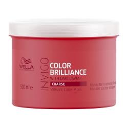 Wella Invigo Color Brilliance - Маска-уход для защиты цвета окрашенных жестких волос 500 мл