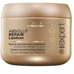 L'Oreal Professionnel Absolut Repair Lipidium Maske — Восстанавливающая маска для очень поврежденных волос, 200мл