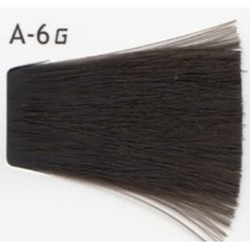 Lebel Cosmetics Materia g - Перманентная краска для седых волос, A-6 тёмный блонд пепельный 120 гр