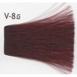 Lebel Cosmetics Materia g - Перманентная краска для седых волос, V-8 светлый блонд фиолетовый 120 гр