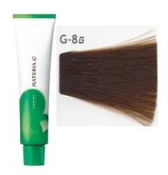 Lebel Cosmetics Materia g - Перманентная краска для седых волос, G-8 светлый блонд желтый 120 гр