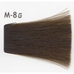 Lebel Cosmetics Materia g - Перманентная краска для седых волос, M-8 светлый блонд матовый 120 гр