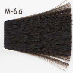 Lebel Cosmetics Materia g - Перманентная краска для седых волос, M-6 тёмный блонд матовый 80 гр