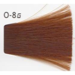 Lebel Cosmetics Materia g - Перманентная краска для седых волос, O-8 светлый блонд оранжевый 120 гр