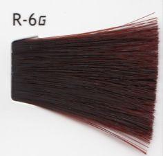 Lebel Cosmetics Materia g - Перманентная краска для седых волос, R-6 тёмный блонд красный 80 гр