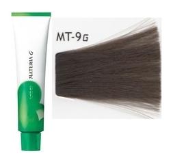 Lebel Cosmetics Materia g - Перманентная краска для седых волос, MT-9 очень светлый блонд металик 120 гр