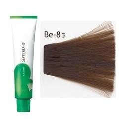 Lebel Cosmetics Materia g - Перманентная краска для седых волос, Be-8 светлый блонд бежевый 120 гр