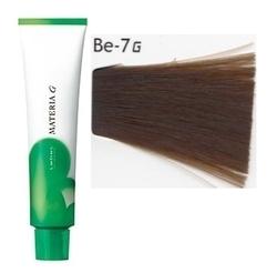 Lebel Cosmetics Materia g - Перманентная краска для седых волос, Be-7 блонд бежевый 120 гр