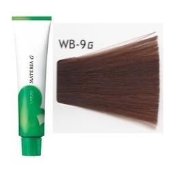 Lebel Cosmetics Materia g - Перманентная краска для седых волос, WB-9 очень светлый блонд тёплый 120 гр