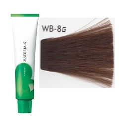 Lebel Cosmetics Materia g - Перманентная краска для седых волос, WB-8 светлый блонд тёплый 120 гр