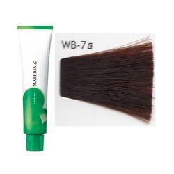 Lebel Cosmetics Materia g - Перманентная краска для седых волос, WB-7 блонд тёплый 120 гр