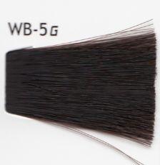 Lebel Cosmetics Materia g - Перманентная краска для седых волос, WB-5 светлый шатен тёплый 120 гр