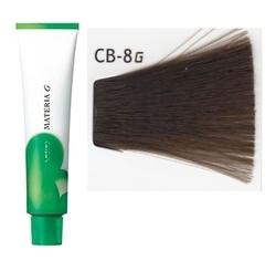 Lebel Cosmetics Materia g - Перманентная краска для седых волос, CB-8 светлый блонд холодный 120 гр