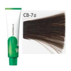 Lebel Cosmetics Materia g - Перманентная краска для седых волос, CB-7 блонд холодный 120 гр
