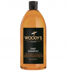 Woody's Daily Shampoo - Шампунь для ежедневного ухода за волосами, 1000 мл