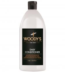 Woody's Daily Conditioner - Кондиционер для ежедневного ухода за волосами, 1000 мл